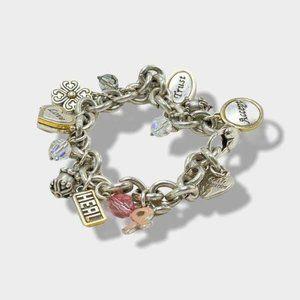 BRIGHTON Bracelet Power of Pink Charm Bracelet for Breast Cancer 2006   BRIGHTON
